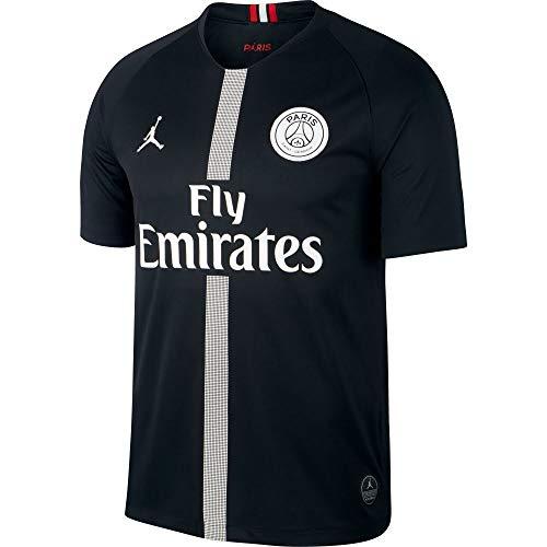 Nike PSG M NK BRT STAD JSY SS 3R Camiseta 3ª Equipación Paris Saint Germain, Hombre, Negro (Black/White), M