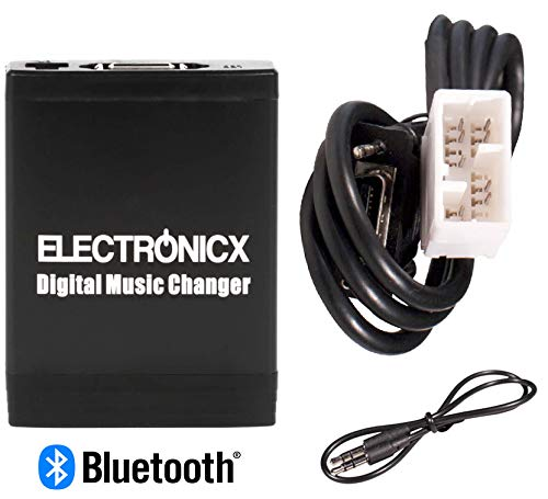 Xm-auto-stereo-adapter (Electronicx Elec-M06-HON2F-BT Adapter USB SD MP3 AUX Bluetooth Freisprechanlage kompatibel mit Honda Goldwing autoradio)