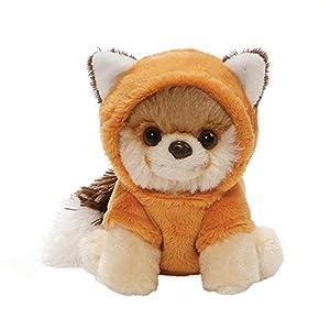 Enesco Gund 4061291 - El perro Itty Bitty Boo, vestido de zorro, color rojo