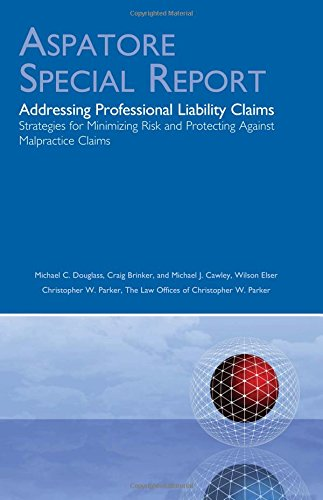 addressing-professional-liability-claims-aspatore-special-report