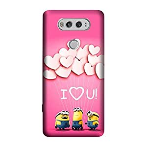 GADGETS WRAP Printed Back cover for LG V20 minion-love-you