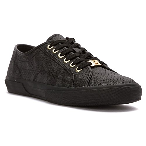 Michael Michael Kors Boerum Femmes Toile Baskets Black