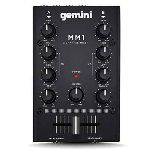 GEMINI MM 1 COMPACT MIXER A 2 CANALI