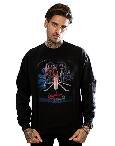 Nightmare On Elm Street Herren Dream Warriors Sweatshirt X-Large Schwarz