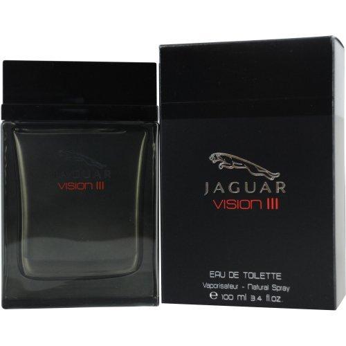 Jaguar Vision III Eau De Toilette Spray for Men, 3.4 Ounce
