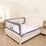 Baby Bed Rail Guard, Vertical Lifting Bed Guard Safety Protection Guard,Anti-Fall Bed Guardrail for Toddler Ba