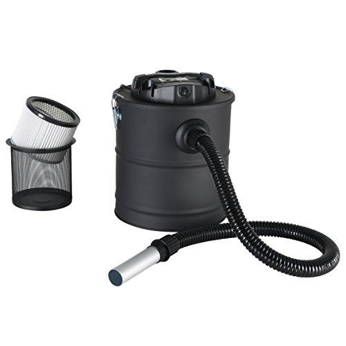 Aschesauger Kaminsauger mit Motor 1200W Filter Kamin Asche Sauger 20 Liter