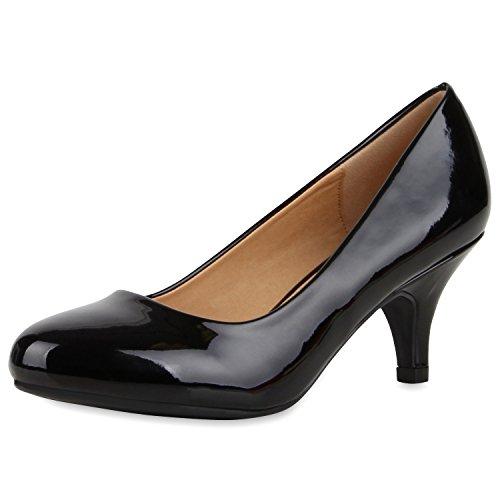 napoli-fashion , Coupe fermées femme Noir brillant