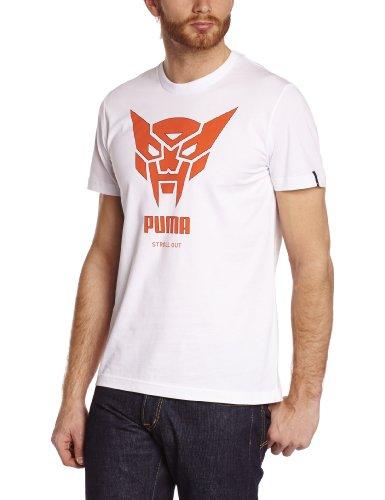 Puma Herren T-Shirt Men' weiß - Weiß