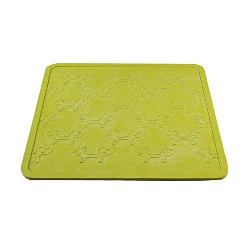 Artikelbild: United Pets GI0601VE Napfunterlage - Mustafà, groß, grün