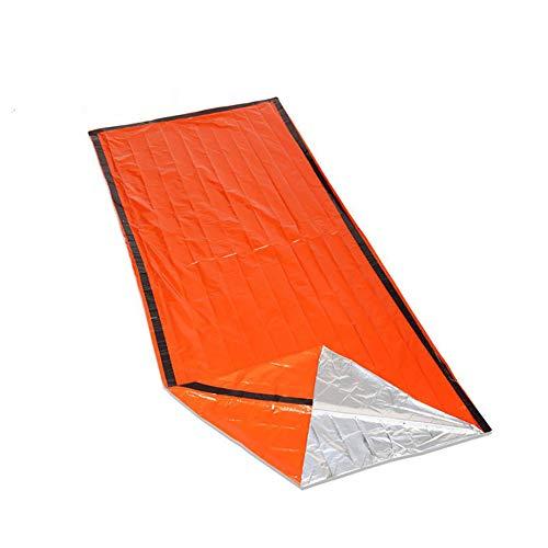LWXJC, Coperta Termica di Emergenza, Sacco a Pelo, Kit di Sopravvivenza per Campeggio, Escursionismo