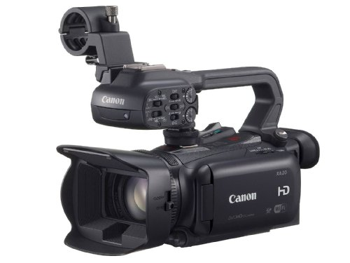 Canon xa 20 shoulder camcorder 3.09mp cmos full hd black - camcorders (3.09 mp, cmos, 25.4/2.84 mm (1/2.84