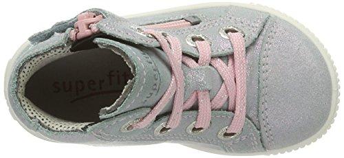 Superfit Moppy, Chaussures Marche Bébé Fille Multicolore (agave Kombi)