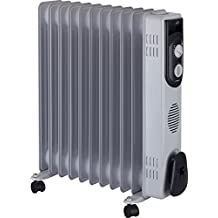 Jata R111 Radiador de aceite con 11 elementos caloríficos 2500 W, ...