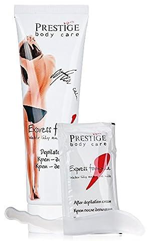 Vip´s Prestige Crème dépilatoire avec une spatule et crème apaisante ultérieure Formule express