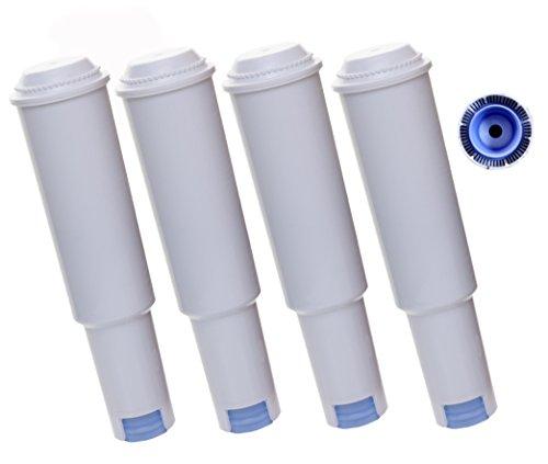 4 x Filterpatrone AquaCrest kompatibel Jura Claris white