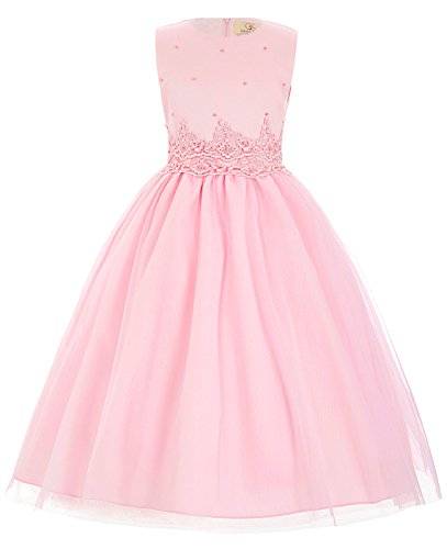 GRACE KARIN Flower Girl Princess Bridesmaid Wedding Pageant Party Dresses