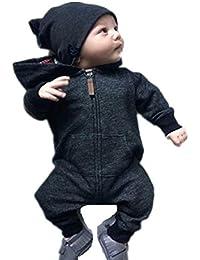 Amazon.es: mono nieve bebe - Negro: Ropa
