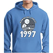 Blowing Out Candles Since 1997 20th Birthday Gift Hoodie
