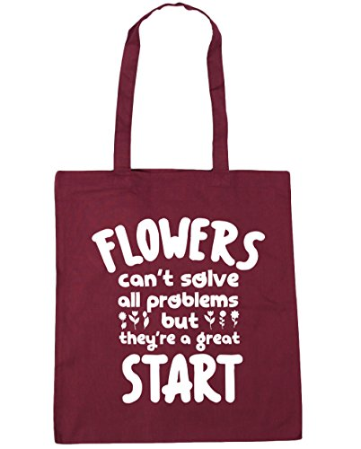 hippowarehouse-flowers-cant-solve-all-problems-but-theyre-a-great-start-tote-shopping-gym-beach-bag-