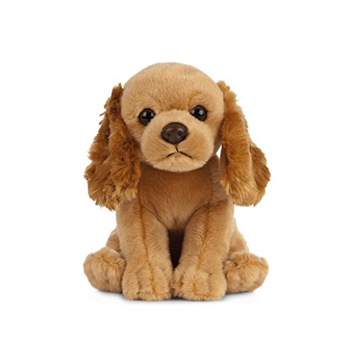 Living Nature Soft Toy - Stofftier Cocker Spaniel Welpe (16cm) -