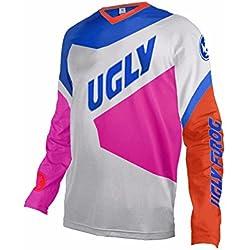 Uglyfrog 2018 V-Kollar Nuevo Manga Larga Downhill Jersey De Descenso Bicicleta De Primavera&otoño Montañal Motocicletas Maillots Deportes y Aire Libre