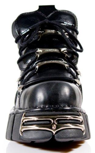 New Rock Boots Unisexe Botte - Style 106 S1 Noir Noir