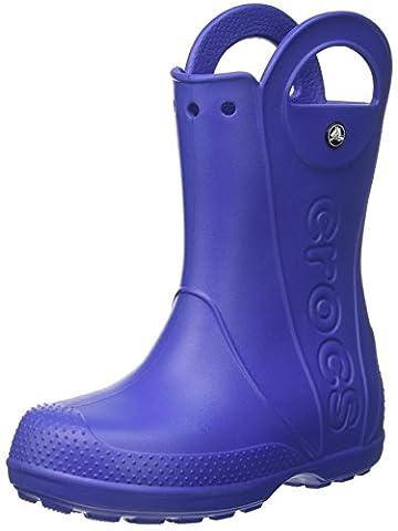 crocs Unisex-Kinder Handle It Rain Boot Gummistiefel, Blau (Cerulean Blue), 23-24 EU