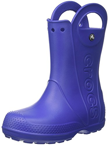 crocs Unisex-Kinder Handle It Rain Boot Gummistiefel, Blau (Cerulean Blue), 24-25 EU