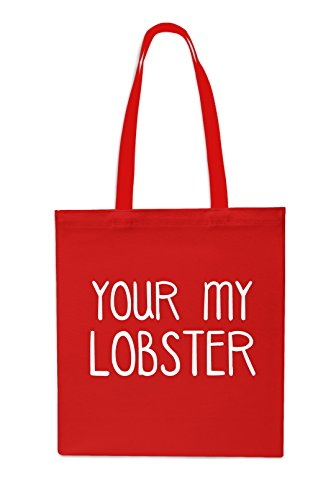 your-my-lobster-tote-shopping-gym-beach-bag-42cm-x38cm-10-litres-red