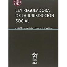 Ley Reguladora de la Jurisdicción Social 8ª Edición 2017 (Textos Legales)