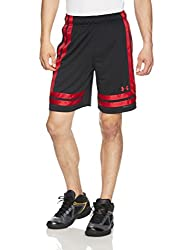 Under Armour Men's Ua Baseline 10in 18 Short, Blackred Red (002), 3xl
