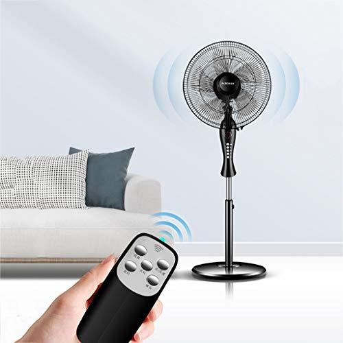 MEI Elektrischer Ventilator , Elektrische Ventilatoren für zu Hause , Ferngesteuerter Zyklon-Standventilator mit integriertem Timer, oszillierender Bewegung und Einstellbarer Höhe (Hause Für Elektrische Zu Ventilatoren)