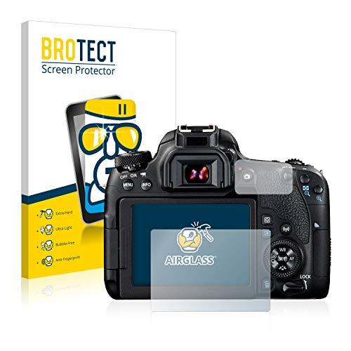 BROTECT Protector Pantalla Cristal Canon EOS 77D -