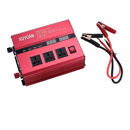 Corneliaa 8000W Solar Power Inverter USB LED-Anzeige AC/DC Sinus-Wechselrichter
