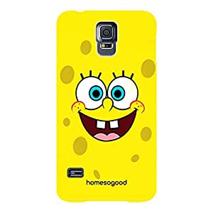 HomeSoGood The Cute Cartoon Multicolor 3D Mobile Case For Samsung S5 ( Back Cover)