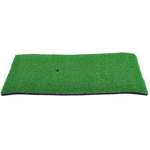 YEYE High-Density Kunstrasen,Golf Grass Mat Practice Hitting Mat Portable Golf Training Turf Matte Für Hinterhof Indoor Praxis-grün 32.5x15x16cm(13x6x6inch) -