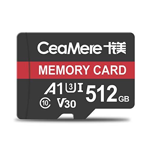 ZYJ 2er Pack Speicherkarte, Micro SD Speicherkarte UHS-I U3 V30 Pro High Speed   Micro SDXC Karte (8 GB, 16 GB, 32 GB, 64 GB, 128 GB, 256 GB, 512 GB),512GB (2 64 Gb Micro Sd-karte)