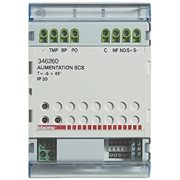 bticino bus - relais pour cde ouverture+indication porte ouverte