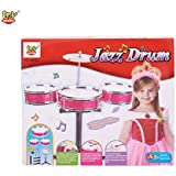 Toy Arena Jazz Drum Musical Fun Play Toy Multi Color Jazz Drum Set For Kids