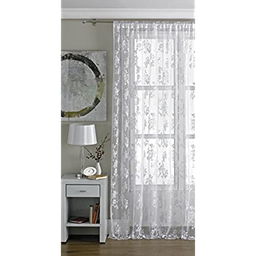 curtains love priscilla pin these i them bought living room curtain for my dinning lace white and