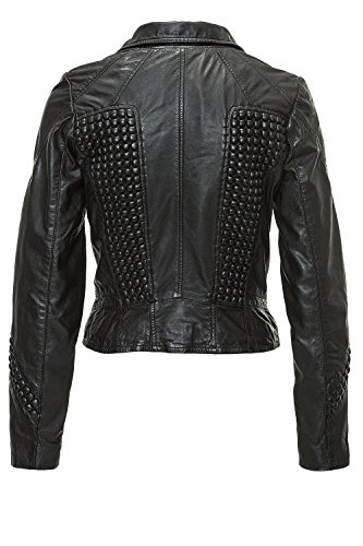 Freaky Nation Damen Lederjacke FN19336 Black M - 3