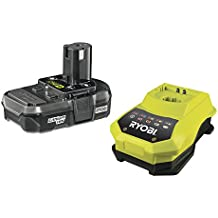 Ryobi RBC18L13 ONE+ 18V Battery and Charger Kit (1x1.3Ah)