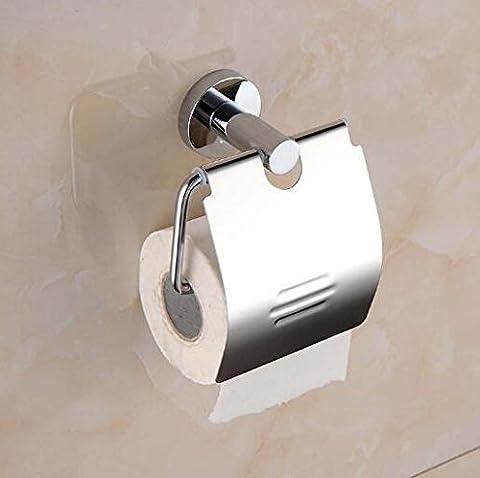 Acier inoxydable Serviette en Papier de papier toilette WC Rouleau de papier toilette WC étagères Hôtel Hôtel Serviette en Papier Box
