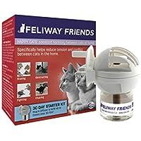 Ceva Feliway Friends - Difusor + Recambio, kit de iniciación para gatos, 48 ml