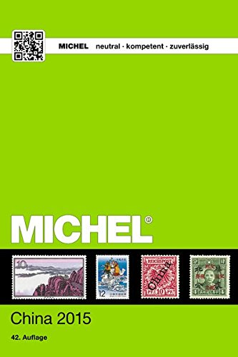 MICHEL-Katalog China (ÜK 9/1): in - China Farben