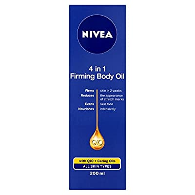 Nivea Q10 4-in-1 Firming Body Oil, 200 ml from Beiersdorf