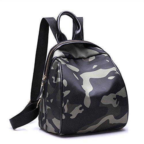 Junge Mädchen Mode Tarn Rucksack Für Studenten Täglichen Gebrauch Und Outdoor-Aktivitäten Paket,A A