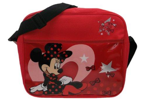 Disney Minnie Mouse Rouge à lèvres, sac à dos rouge école rouge