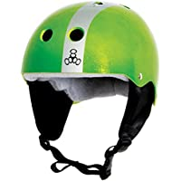Liquid Force Flash 2017(verde/plata) casco de wakeboard, Large, Verde/plateado